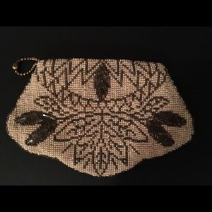 Handbags - Hand beaded 1920's purse